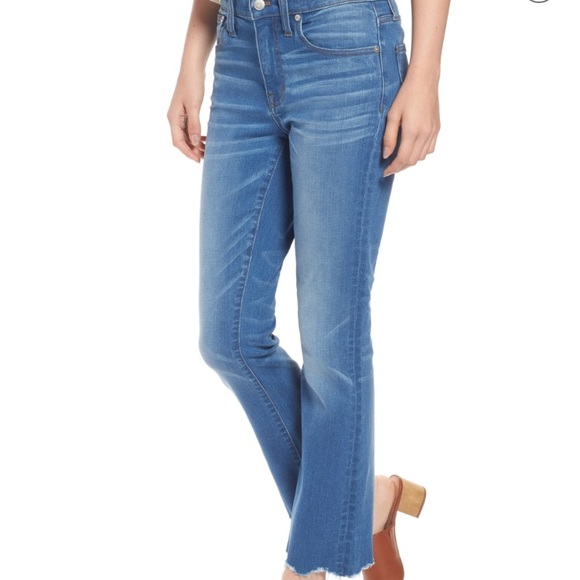 f99bd0cdf55 💙NWT Madewell Cali Demi Boot Jeans in Fenton Wash